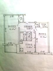 2-комнатная квартира,  г. Минск,  Мавра ул.,  5